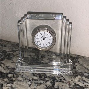 Waterford Crystal Seiko Clock